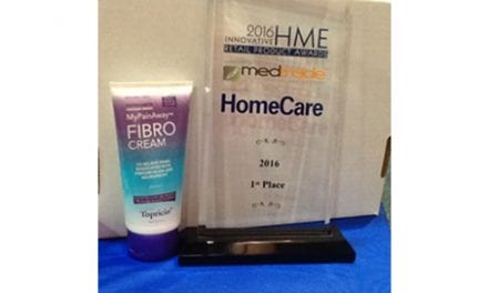 MyPainAway Receives Top Product Prize at Medtrade Fall