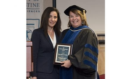 "University of St. Augustine Honors Nicola ""Niki"" Varveris, Physical Therapy Products Author"