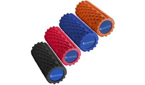 SmartSport Premium Foam Roller Features Dual Contour Design