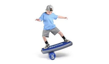 Balance Training on a Cloud Via Soft and Inflatable Kumo Board
