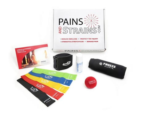 Care Kit Offers an Adjunct to Physical Therapy for Tennis Elbow