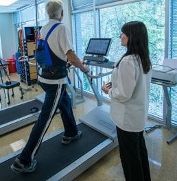 Biodex' Gait Trainer 3 Incorporates Music Therapy with Neuro Rehab