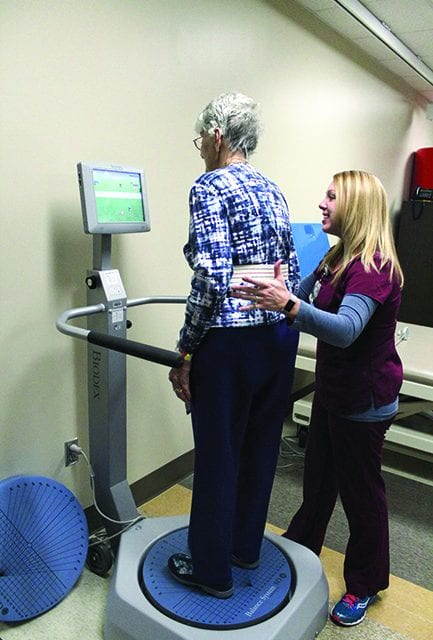 Preventing Falls: Treatment and Technology