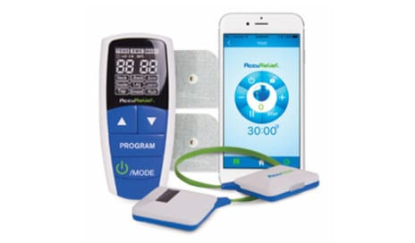 AccuRelief 3-in-1 Device Provides Smartphone-Controlled Pain Relief