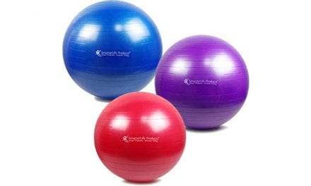 SmarterLife Products Adds New Size, Color Options to Exercise Ball Line