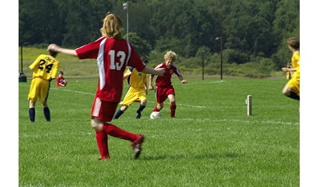 Bone Development in Boys Gets a Boost from Playing Soccer