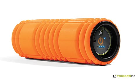 New TriggerPoint GRID VIBE Foam Roller Features Vibration Technology