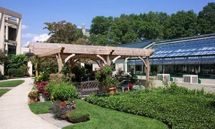 On-Site Greenhouse at Retirement Community Provides Horticulture Therapy