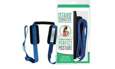 Stretching Tool Stand Corrected Uses Body Weight to Help Correct Posture