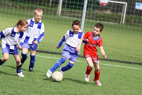 Kids' Warm-Up Program Could Cut Soccer Injuries in Half