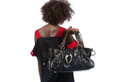 Carrying a Heavy Purse Can Be a Big Pain in the Neck