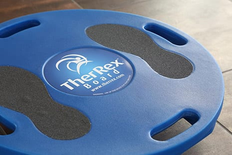 PT-Designed TherRex Balance Board Features a Football-Shaped Base