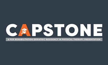 FOX Rehabilitation Announces Capstone Presentation April 12