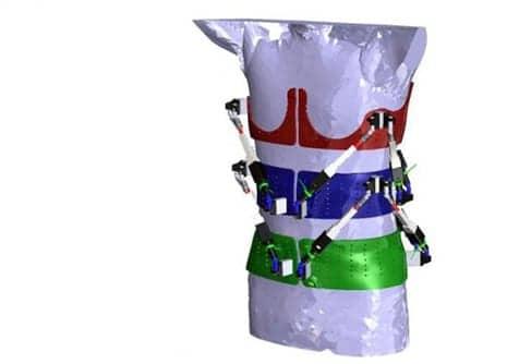 Robotic Spine Exoskeleton  Measures Torso Stiffness in 3D