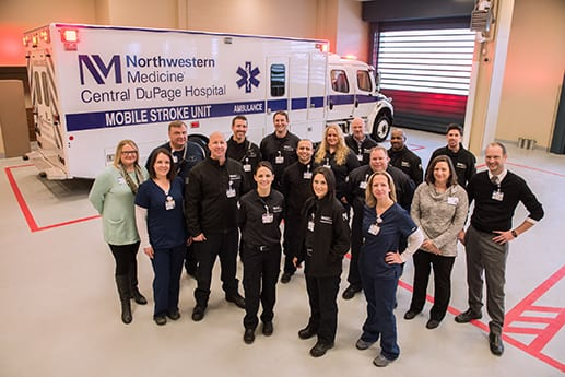 Northwestern Mobile Stroke Unit a Success, Per First-Year Data Analysis
