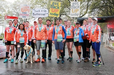 TeamUP Founder Beth Deloria Completes 100th Rock'n'Roll Race