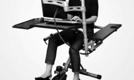 Pedal Desks May Help Address Health Risks from Sedentary Workplace