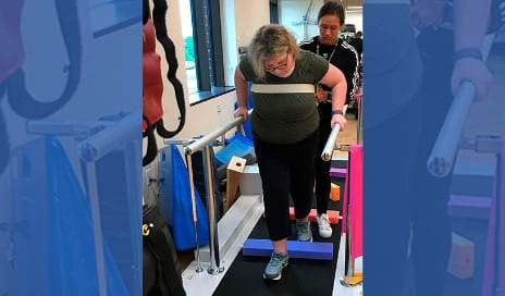 Physical Therapy After Brain Tumor Helps Patient Regain Mobility