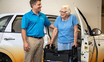 Eskaton Care Center Adds New Wheels to Its OT Room