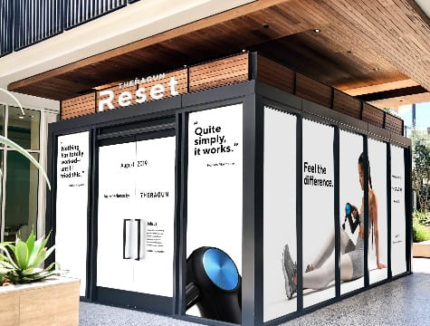 Theragun Reset Offers Percussive Therapy While You Shop