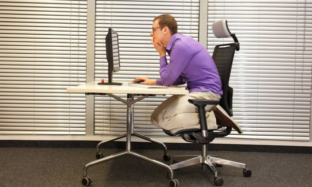 Few Are Concerned About the Health Effects of Poor Posture, Survey Suggests