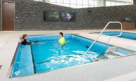 HydroWorx' New Rejuvenate Aquatic Therapy Line is Inspired by the Minnesota Vikings