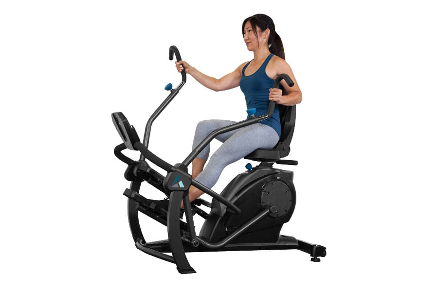New for the New Year: the FreeStep LT3 Recumbent Cross Trainer from Teeter