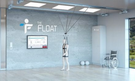 'Float' in Three Dimensions to Aid Walking