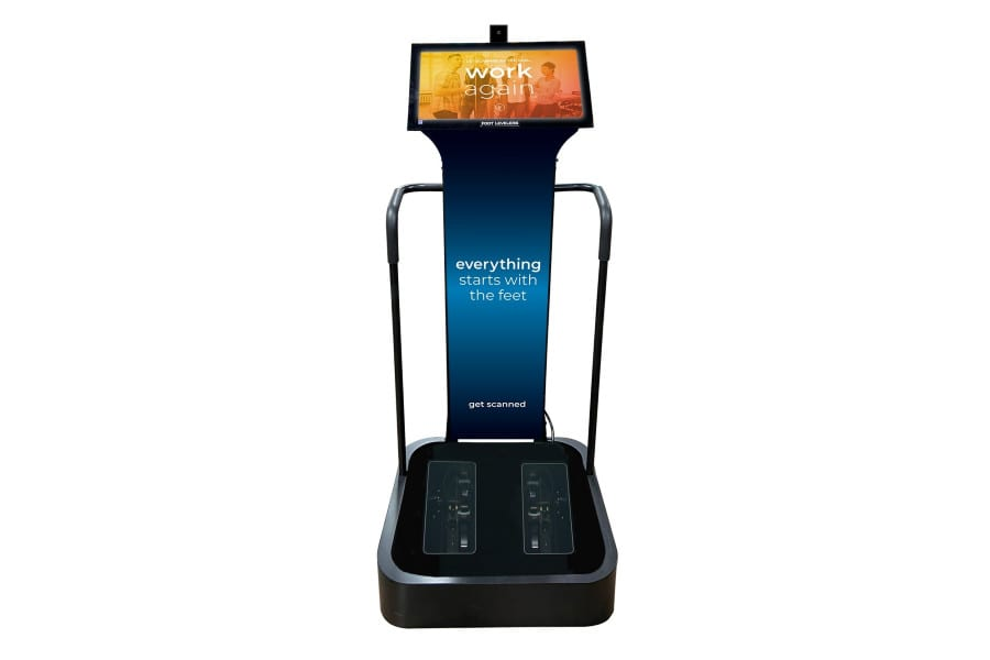 Foot Levelers Debuts Updated Foot Scanning Kiosk at Parker Seminars Vegas