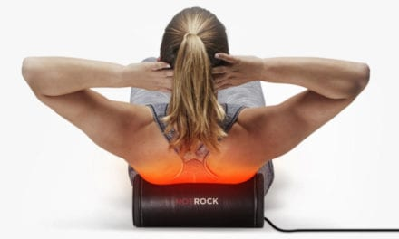 HotRock Foam Roller Delivers Heat Therapy