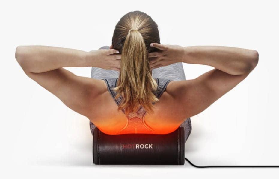 HotRock Foam Roller Delivers Heat Therapy