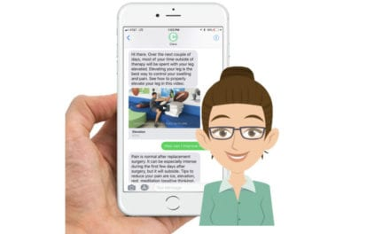 Chat with Clara While Going Through a Knee Replacement