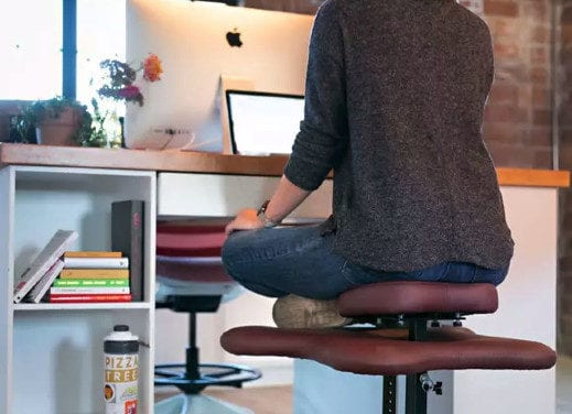 Company Creates Office Chair To Allow Workers To Sit Cross-Legged
