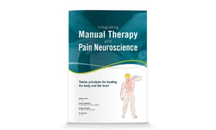 OPTP Publishes a New Manual Therapy and Pain Science Book from Adriaan Louw