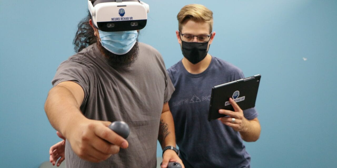 Perform Physical Therapy in Virtual Reality with the XR Therapy System