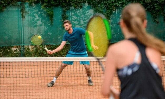 Racket Sports' Speedy Effect on Knee Arthritis