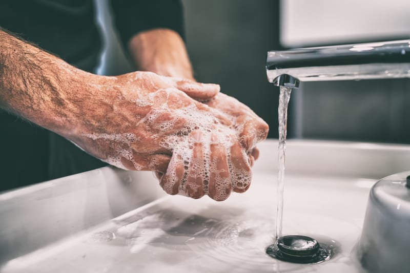 The New ENVIRO Sink System Provides No-Touch Handwashing