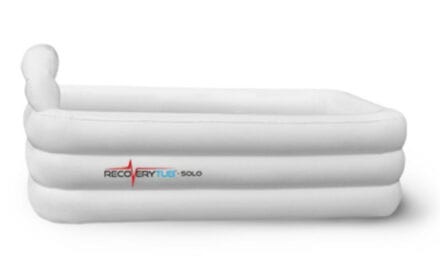 Inflatable RecoveryTub Provides Protection on the Road