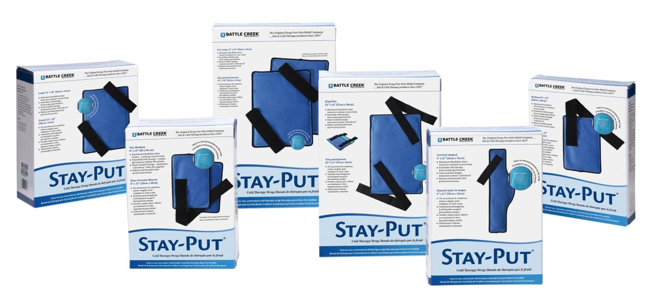 Battle Creek Debuts Stay-Put Cold Therapy Wraps