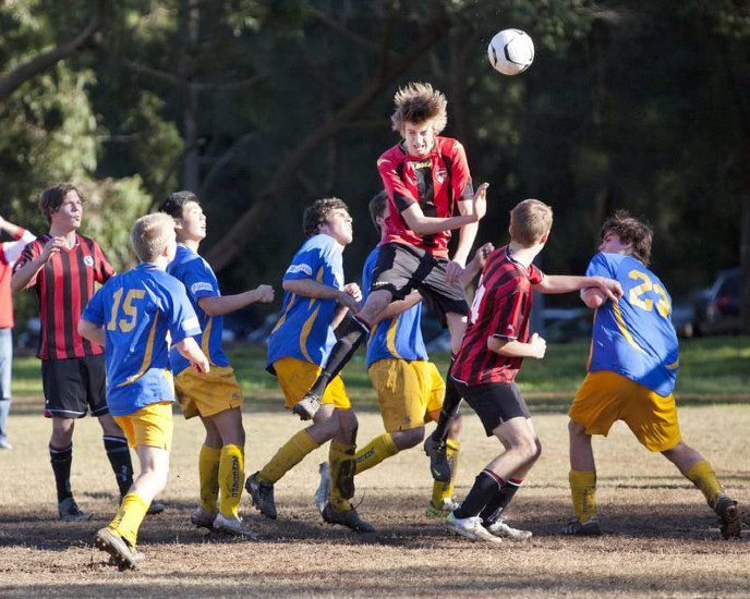When Are Soccer Players Most at Risk for Head Injury?