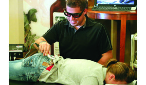 Cold laser therapy is among the variety of modalities patients can use to manage their pain at home.