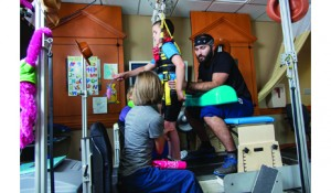 When it comes to equipment for children, one of the key factors to consider is their size. Pediatric LT equipment must be proportional to not only the child, but also the clinicians and trainers guiding the therapy.